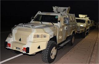 Kendaraan Lapis Baja APC Cougar 4x4