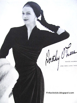 Pintucks: Dorothy O'hara: California Fashion Designer