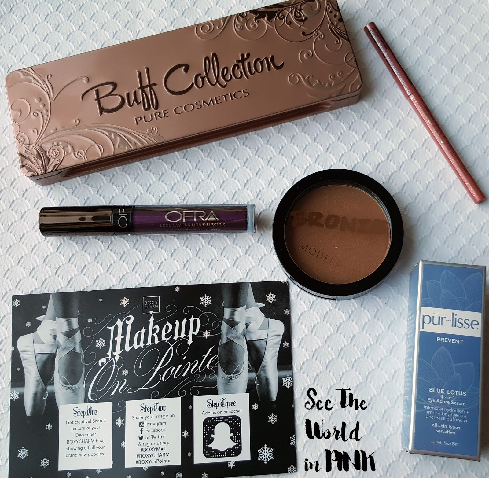 December 2016 Boxycharm - Review and Unboxing