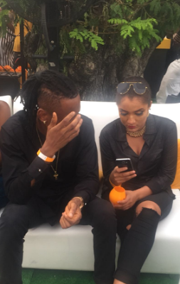 Photos: Gifty And Mr 2kay Spotted At Lagos Polo Club1