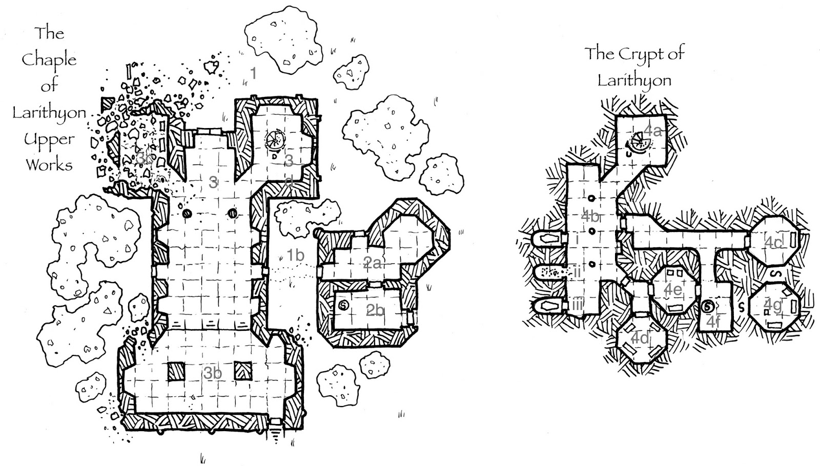 Zombiecowboy's Game Blog: The Chapel of Larithyon