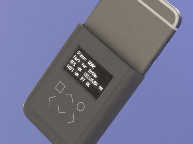 Snowden construye funda para iPhone que avisa cuando te espían