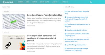 Cara Ganti Warna Pada Template Blog