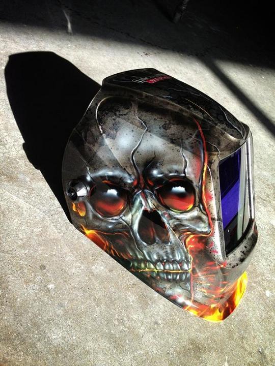 Custom Welding Helmets >> 12 Most Creative Welding Helmets.