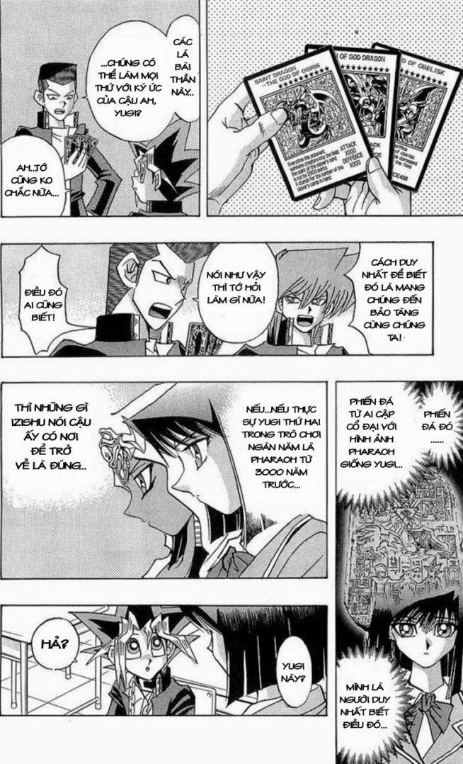 YUGI-OH! chap 281 - hiện vật bí ẩn trang 14