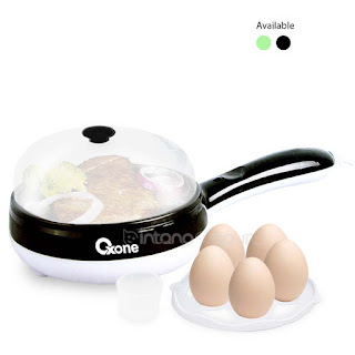 OX-181FE Oxone 2in1 Frypan & Egg Steamer