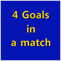 4 goals in a match