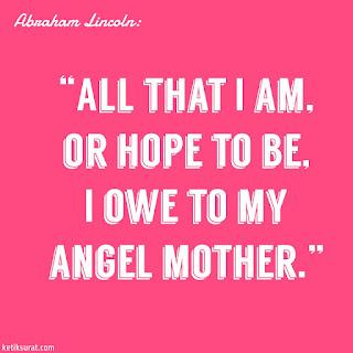 quotes bahasa inggris about mother dan artinya
