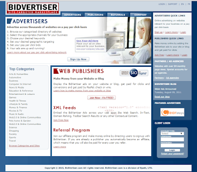 Bidvertiser Review, Review for Publisher, Review for Advertisers