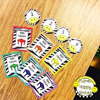 Planet Happy Smiles Classroom Helpers, Classroom Jobs Cards