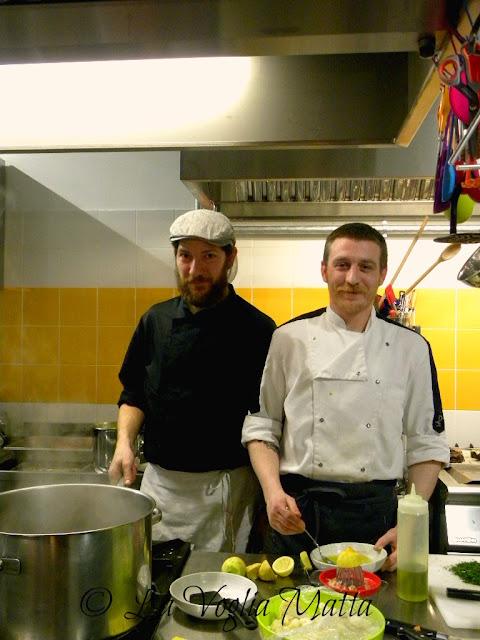 """Andro e Paolo del Ristorante """"Mimi' e Cocotte"""" a Trieste"""