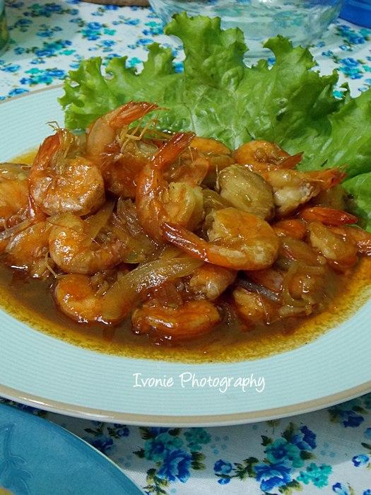 Resep Masak Udang Saus Tiram : resep, masak, udang, tiram, Cooking, Heart:, Udang, Tiram