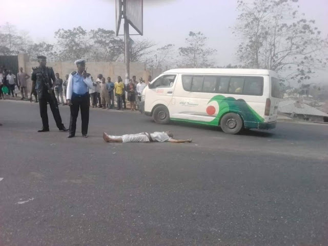 Trailer Crushes Tricycle Driver to Death in Umuahia