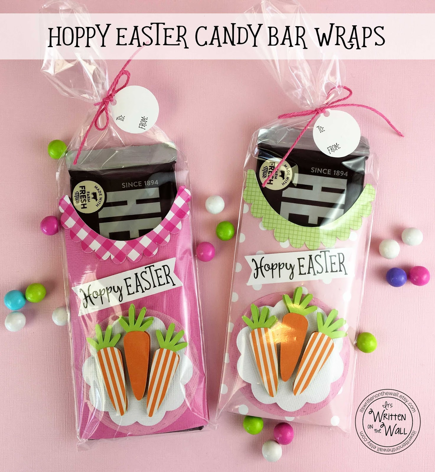 Its written on the wall easter a very special easter candy bar weve got something fun for eastermething you can put in the easter baskets give to family and friends and even to co workers teachers and negle Gallery