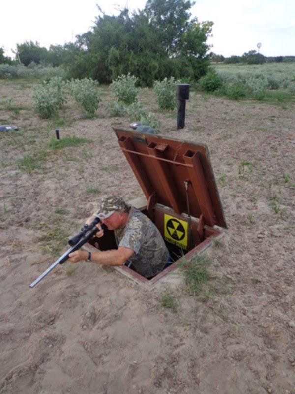 Que tal você construir seu próprio abrigo antibombas!