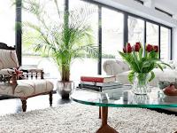 Hiasan Bunga Di Ruang Tamu Minimalis Dan Klasik