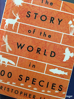 The Story of the World  in 100 Species,  by Christopher Lloyd, superimposed on Intermediate Physics for Medicine and BIology.