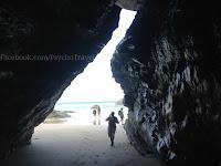 Plaža Catedrais camino de Santiago Norte Sjeverni put sv. Jakov slike psihoputologija