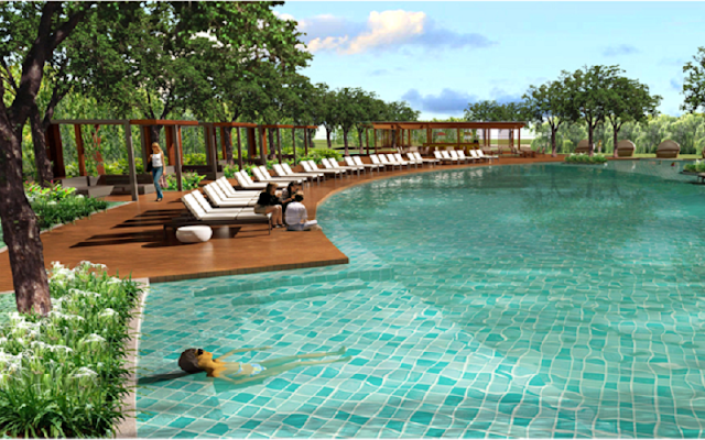 Hồ bơi căn hộ An Gia River City