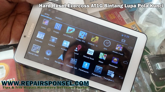 Hard Reset Evercoss AT1G Bintang Lupa Pola Kunci