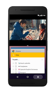 Android 7.0 Nougat Multi Window support
