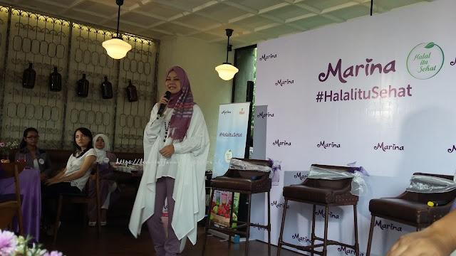 Marina Hand & Body Lotion #HalalituSehat Beauty Talkshow