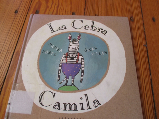 La cebra Camila, Marisa Núñez y Oscar Villar