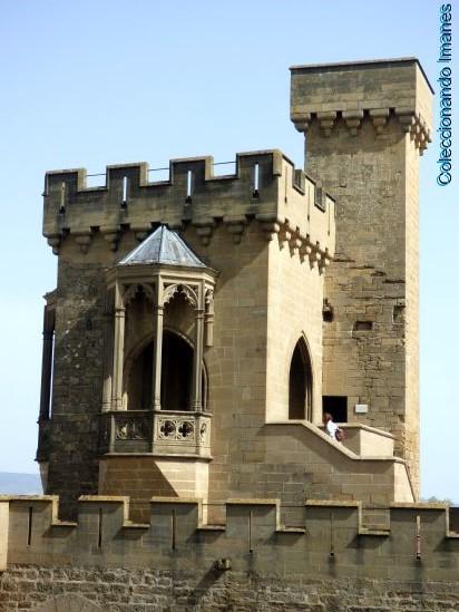 torre del Palacio de Olite - Castillo de Olite
