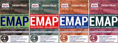 apostila Concurso EMAP 2018