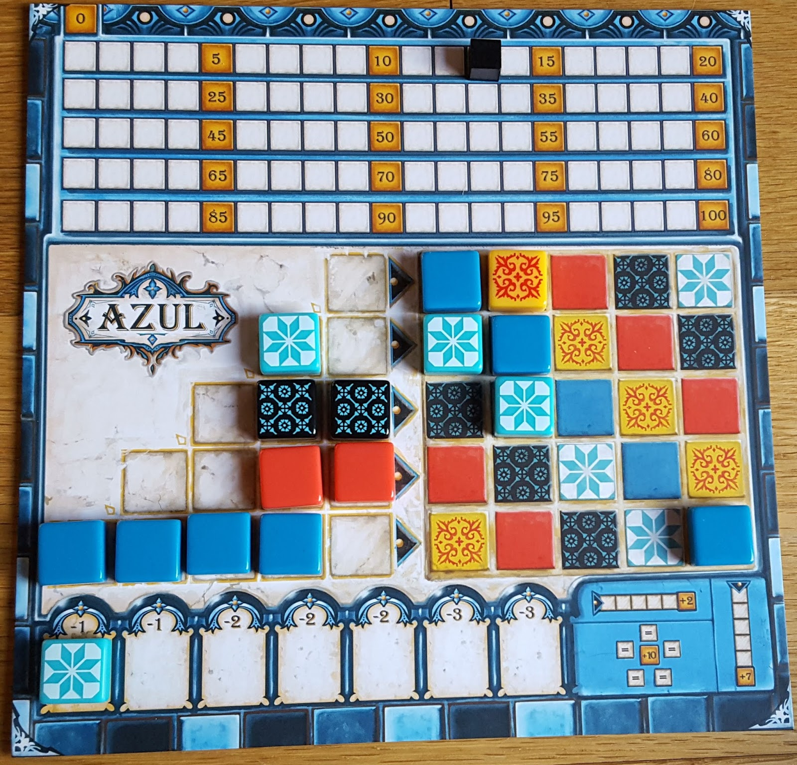 The Game Shelf: Thoughts from The Yellow Meeple:- Azul