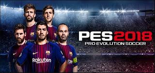 Download Game Pro Evolution Soccer 2018