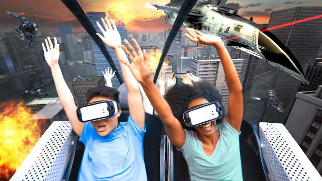 Roger Samara - VR Roller Coaster