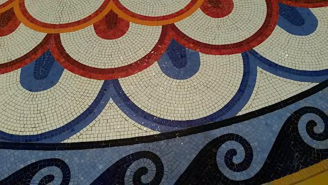 Burj Al Arab Mosaic Flooring