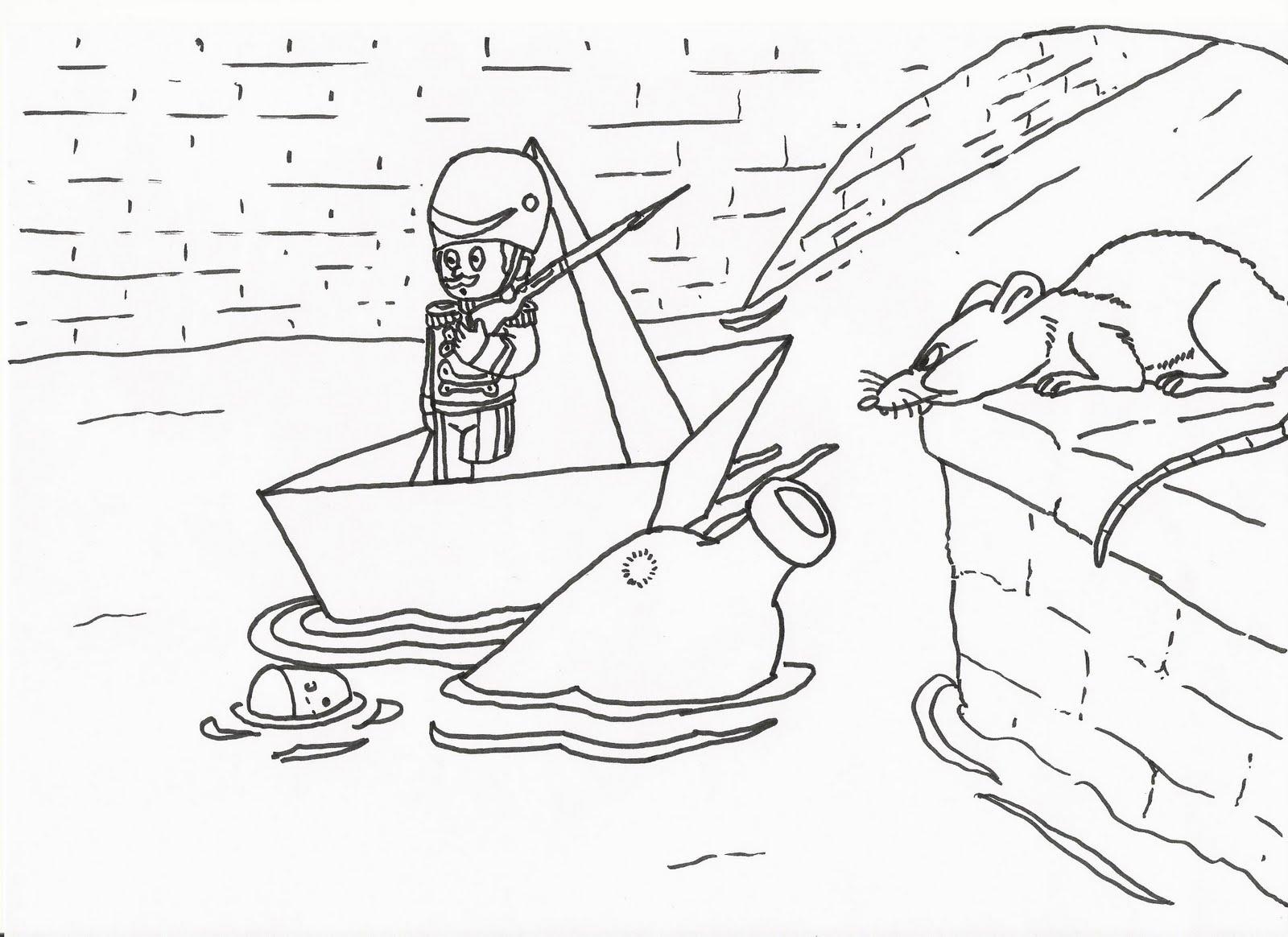 Desenhos do Soldadinho de Chumbo para Colorir  Toda Atual