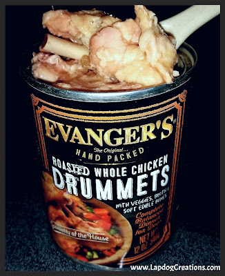 The real meat packed into every Evanger's canned meal is amazing!  - #Evangers #DogFood #DogTreats #LapdogCreations ©LapdogCreations