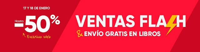 Top 5 ofertas promoción Ventas Flash de Fnac.es
