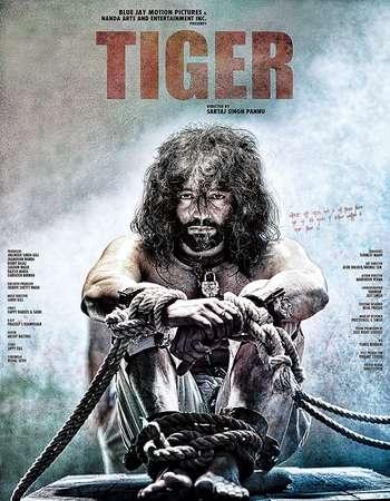 Poster Of Tiger 2016 Punjabi 700MB Cam x264 Watch Online Free Download downloadhub.in
