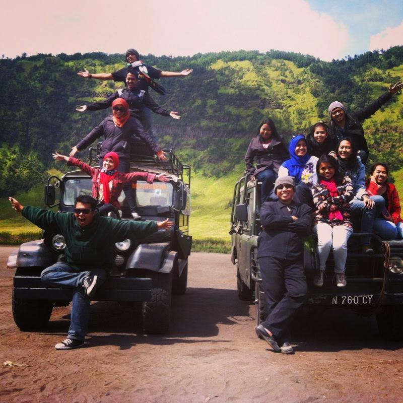 Open trip gabungan yang murah ke Gunung Bromo