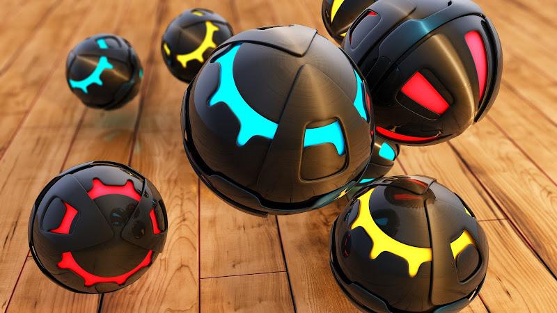 3D Spheres HD