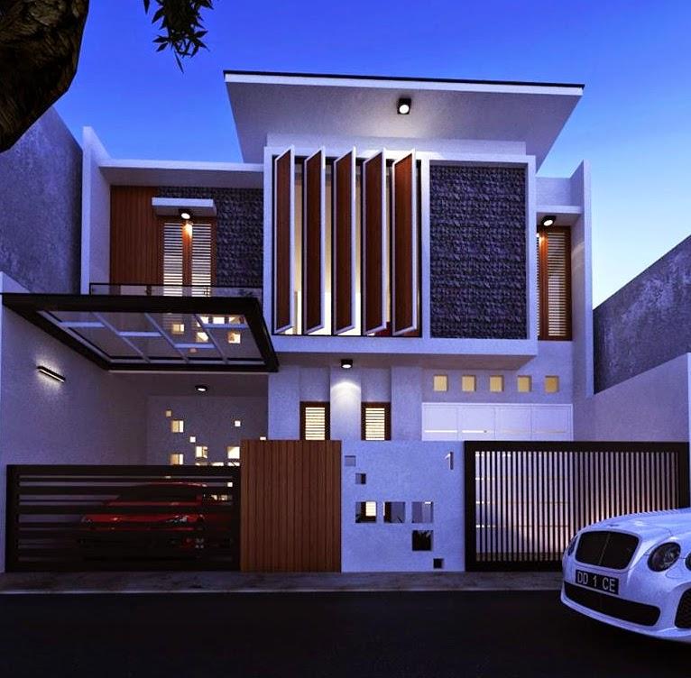 Harga Jasa Desain Interior Cafe: Desain Rumah Type 200 Milik Pak Hamdan , Makassar