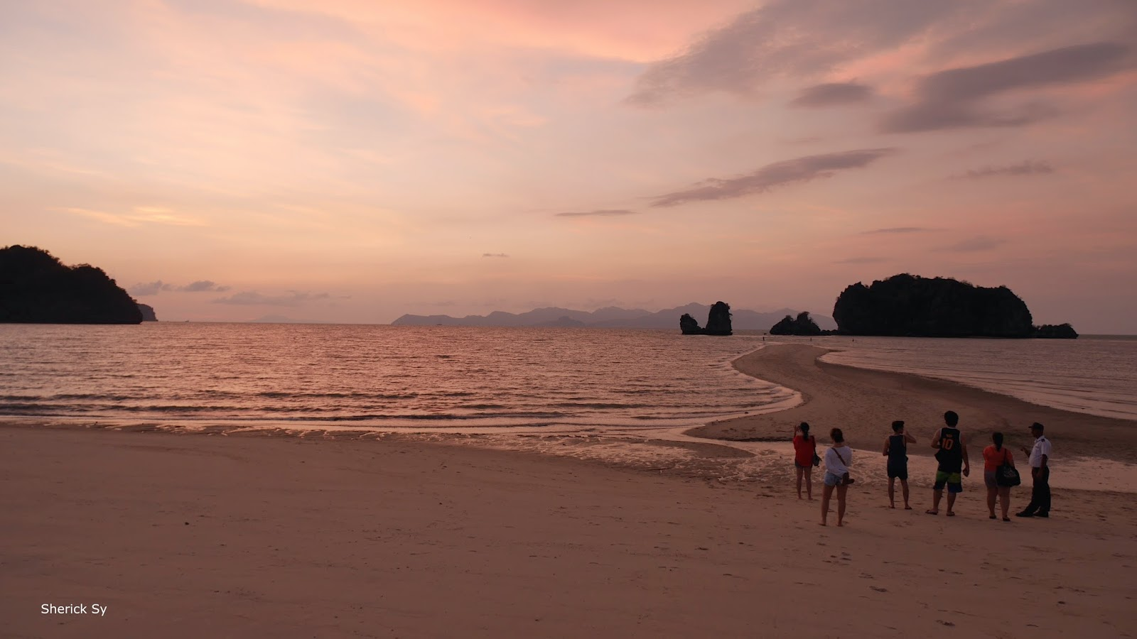 Twilight at Tanjung Rhu Resort, Langkawi, Malaysia