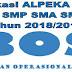 Aplikasi ALPEKA BOS SD SMP SMA SMK Tahun 2018/2019