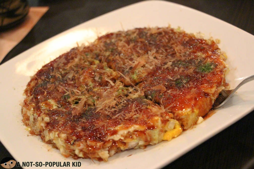 Okonomiyaki of Sugi Restaurant
