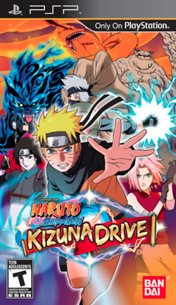 ROMs - Naruto Shippuden Kizuna Drive - PSP - PSP Download