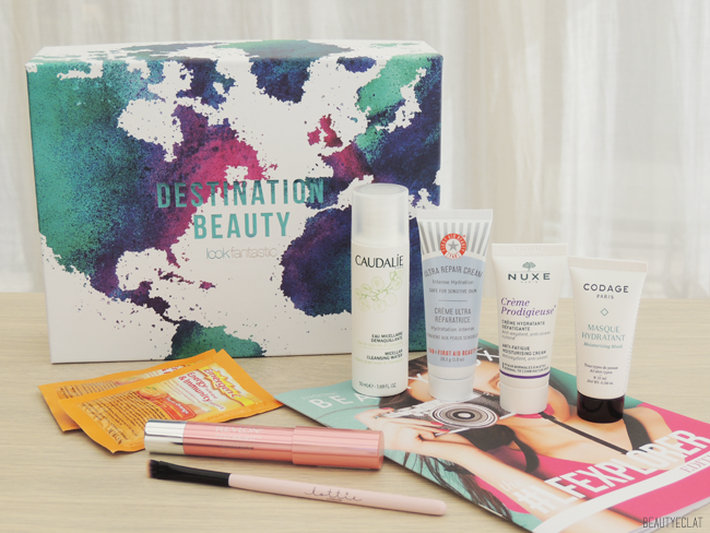 lookfantastic beauty box mars 2016 explorer edition revue avis test