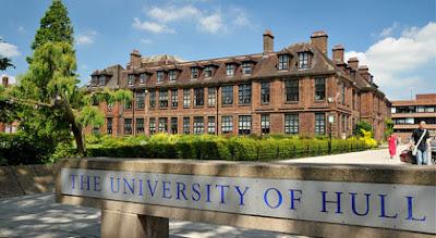 Beasiswa S-2 di University of Hull Inggris