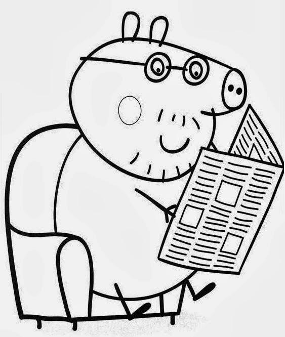 Desenhos : DESENHOS PEPPA PIG PARA COLORIR