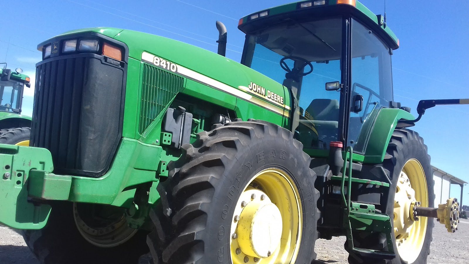 Maquinaria agricola industrial tractor john deere 8410 for 8410 3