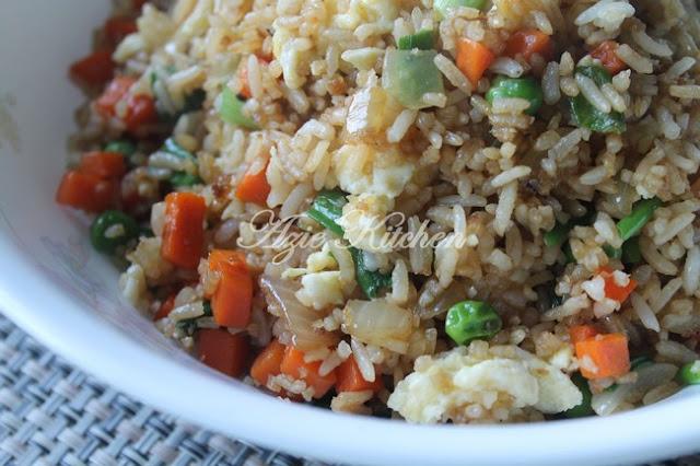 Chinese Style Nasi Goreng Sedap dan Mudah