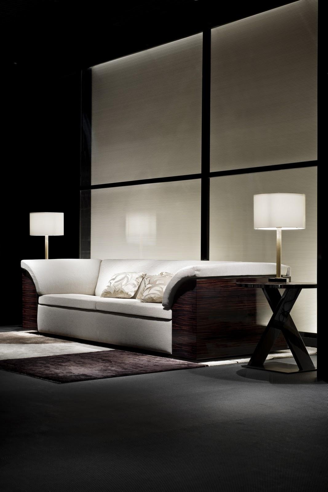 Sofa Shops Chelsea Harbour Apartment Bed Top Disain Interior Armani Lifestyle